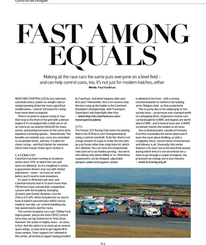 2CV racing featured in Octane magazine