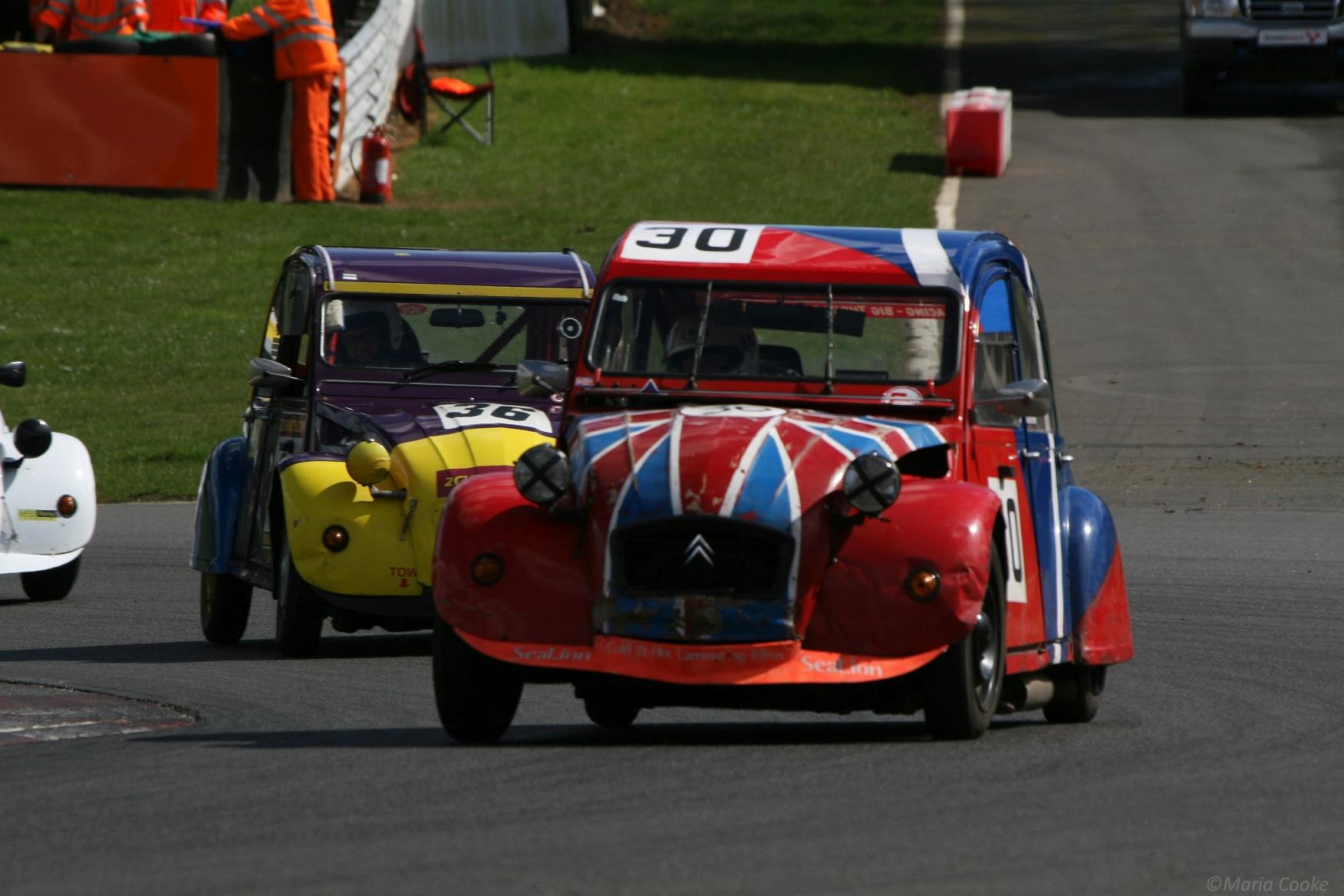 citroen 2cv racing