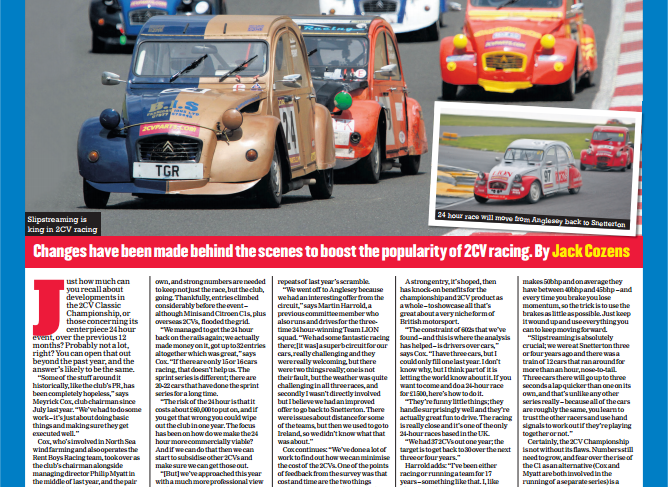 Motorsport News article – Feb 2017