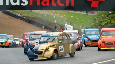 Crispin makes it a double at Brands Hatch